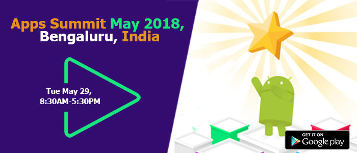 AppSmartz at India Apps Summit 2018, Bengaluru, India